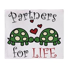 Partners For Life Throw Blanket