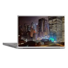 Manhattan highrises Laptop Skins