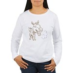 Donkey Women's Long Sleeve T-Shirt