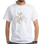 Donkey White T-Shirt