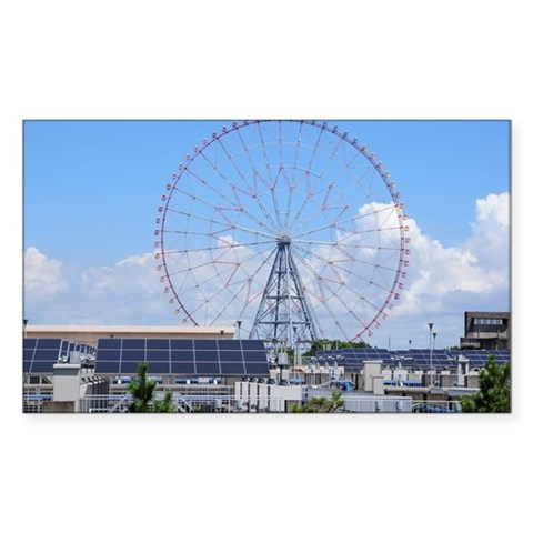 Ferris Wheel and Water Purific Decal