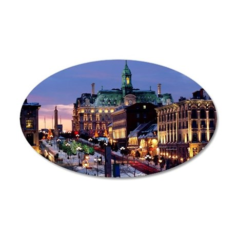 Place Jacques Cartier on a w 35x21 Oval Wall Decal