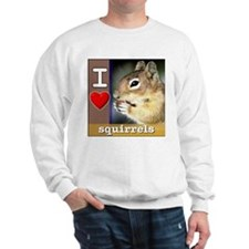 Hungry Squirrel Sweatshirt