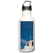'Church with dome and  Water Bottle