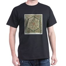 Grandmothers Flower Garden Quilt T-Shirt