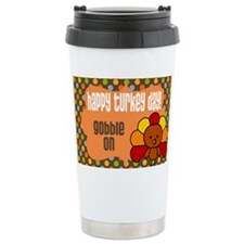 Happy Turkey Day Travel Mug