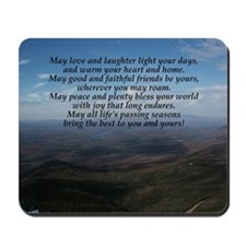 Old Irish Blessing Mousepad