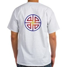 Sunburst Shield Knot T-Shirt