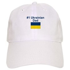 #1 Ukrainian Dad Baseball Cap