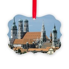 Cityscape of Munich, Bavaria, Ger Ornament