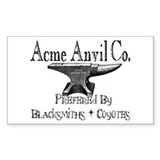 acme Rectangle Decal