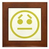 Worried Framed Tile