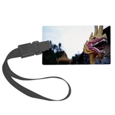 Naga statue Luggage Tag