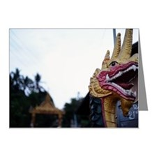 Naga statue Note Cards (Pk of 20)