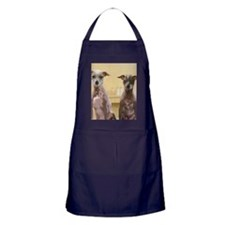 Mexican hairless dogs male and female Apron (dark)
