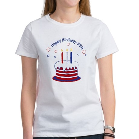 Happy Birthday USA Women's T-Shirt