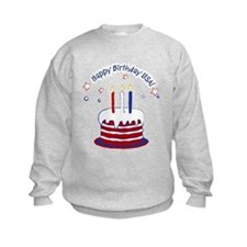 Happy Birthday USA Sweatshirt