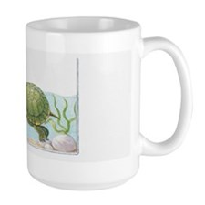 Illustration of Red-Eared Slider (Trach Mug