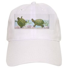 Illustration of Red-Eared Slider (Trachemys sc Baseball Cap