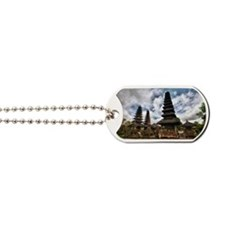 Temple Pagodas in Bali Dog Tags