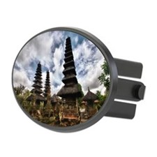 Temple Pagodas in Bali Hitch Cover