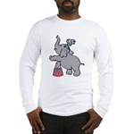 Circus Elephant Long Sleeve T-Shirt