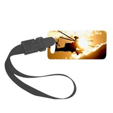 Helicopter Luggage Tag
