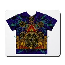 Solomons Magic Pentacle Shirt Mousepad