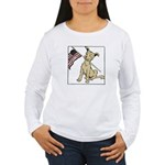 American Dog Women's Long Sleeve T-Shirt