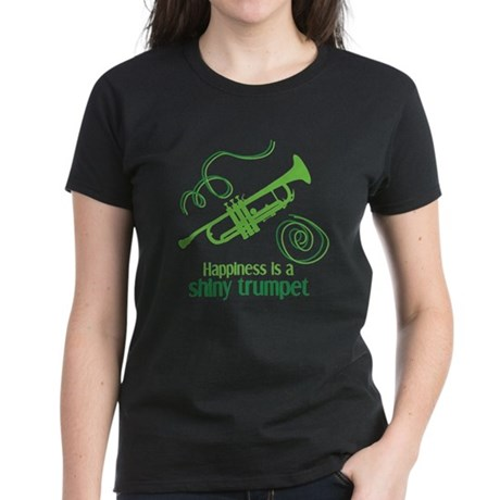 Shiny Trumpet Women's Dark T-Shirt