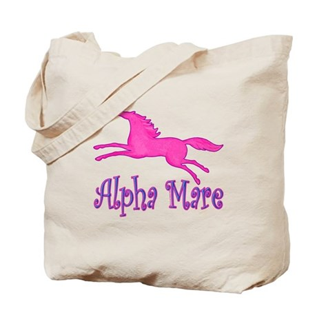 Alpha Mare, cute & playful Tote Bag