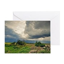 Storm chasing Greeting Card
