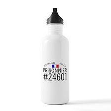 Prisonnier #24601 Sports Water Bottle