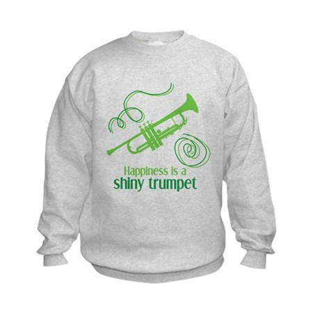 Shiny Trumpet Kids Sweatshirt