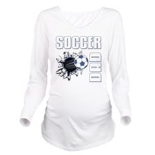 Soccer Dad Long Sleeve Maternity T-Shirt
