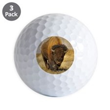 Yellowstone Buffalo Headon Golf Ball