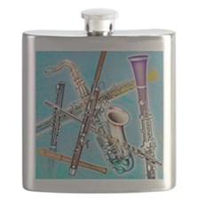 Wind instruments Flask