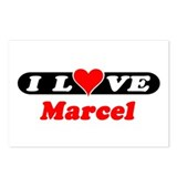 I Love Marcel Postcards (Package of 8)