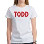 Todd Plays Well Season Women's T-Shirt
