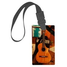 cuban tres Luggage Tag