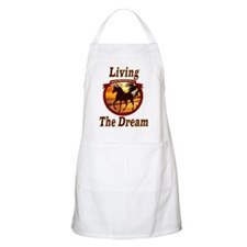 Rocky Living the Dream BBQ Apron