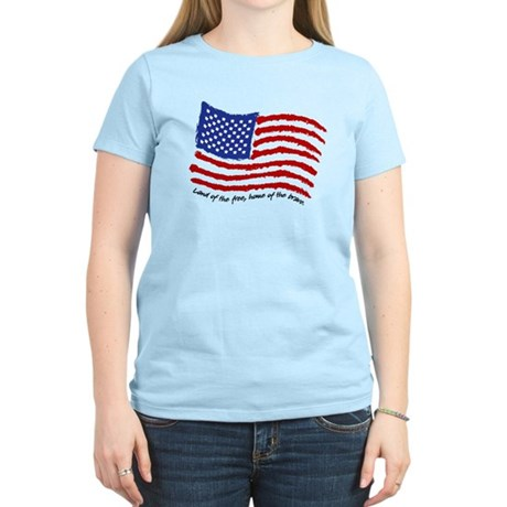 Land of the Free Women's Light T-Shirt