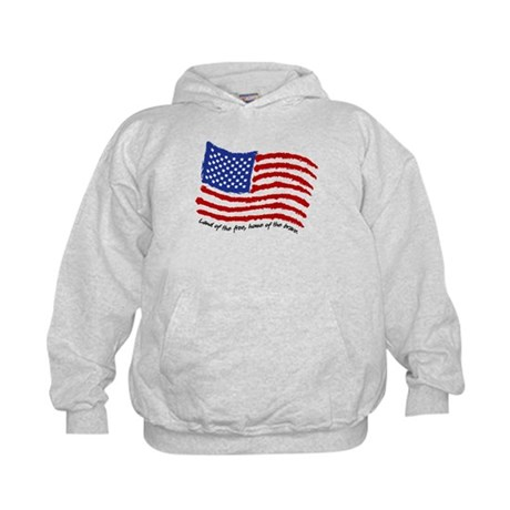 Land of the Free Kids Hoodie