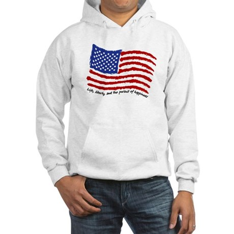 Life, Liberty Hooded Sweatshirt