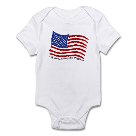Life, Liberty Infant Bodysuit