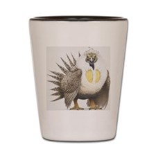 Sage Grouse Centrocercus urophasianus,  Shot Glass