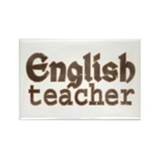 English Teacher Rectangle Magnet
