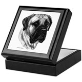 English Mastiff Keepsake Box