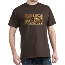 Brown or Black T-Shirt