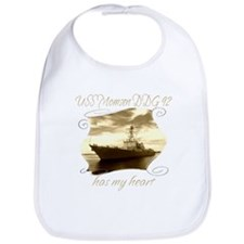 Cool Navy wife t Bib